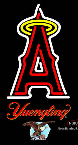 Yuengling Anaheim Angels MLB Neon Sign  7