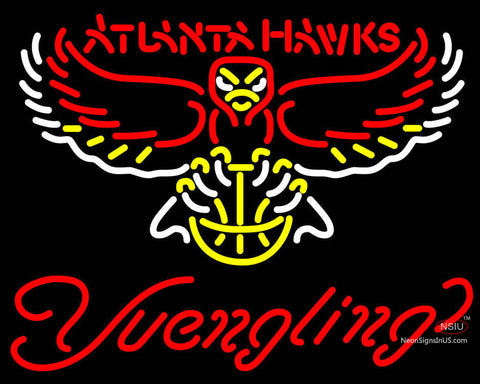 Yuengling Atlanta Hawks NBA Beer Neon Sign