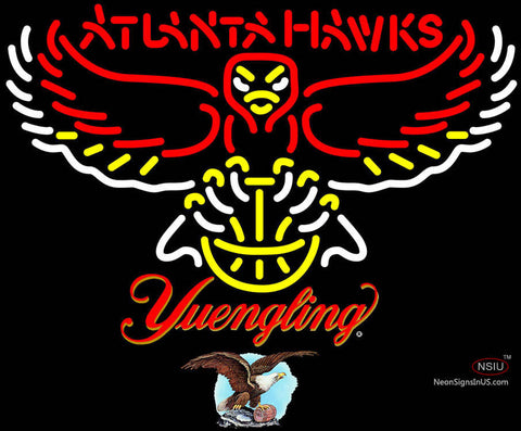 Yuengling Atlanta Hawks NBA Neon Sign