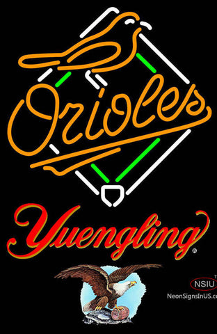 Yuengling Baltimore Orioles MLB Neon Sign