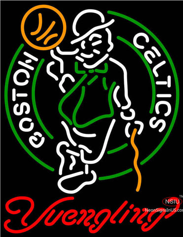 Yuengling Boston Celtics NBA Beer Neon Sign