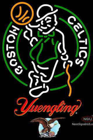 Yuengling Boston Celtics NBA Neon Sign