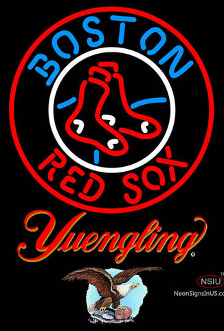Yuengling Boston Red Sox MLB Neon Sign