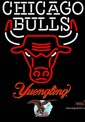 Yuengling Chicago Bulls NBA Neon Sign