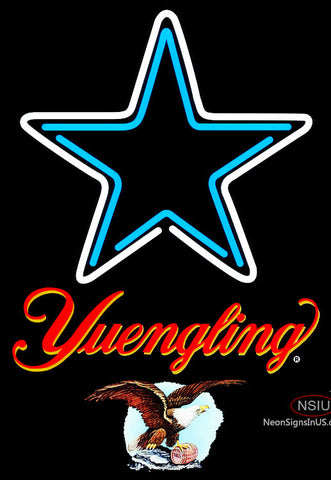 Yuengling Dallas Cowboys NFL Neon Sign