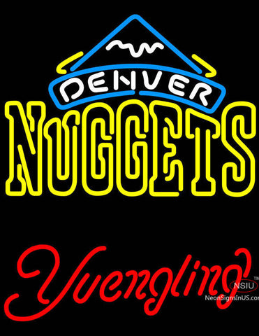 Yuengling Denver Nuggets NBA Beer Neon Sign