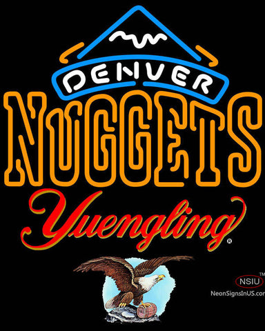 Yuengling Denver Nuggets NBA Neon Sign