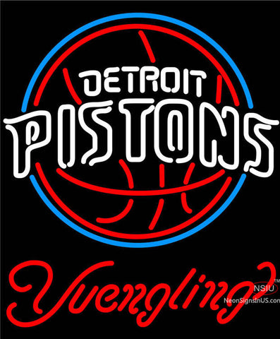 Yuengling Detroit Pistons NBA Beer Neon Sign