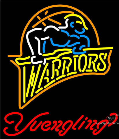 Yuengling Golden St Warriors NBA Beer Neon Sign