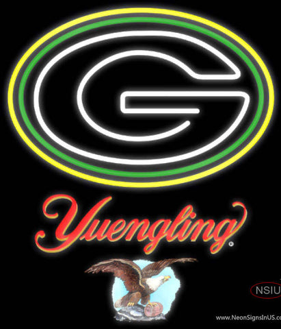 Yuengling Green Bay Packers NFL Neon Sign