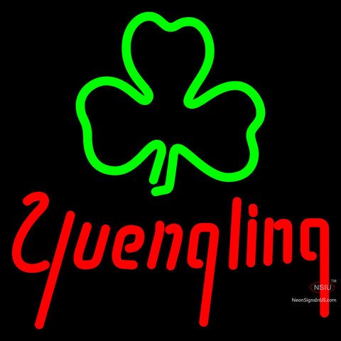 Yuengling Green Clover Neon Beer Sign x