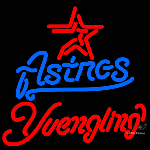 Yuengling Houston Astros MLB Beer Neon Sign x