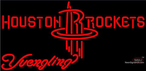 Yuengling Houston Rockets NBA Beer Neon Sign