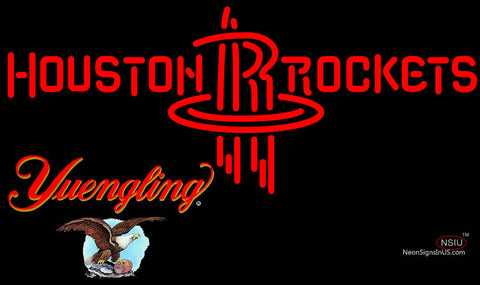 Yuengling Houston Rockets NBA Neon Sign