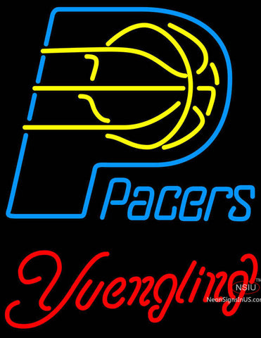 Yuengling Indiana Pacers NBA Beer Neon Sign