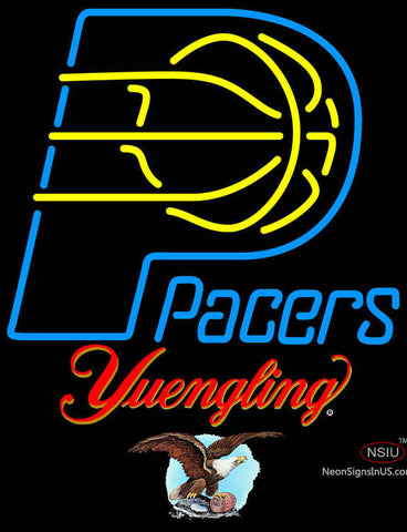 Yuengling Indiana Pacers NBA Neon Sign