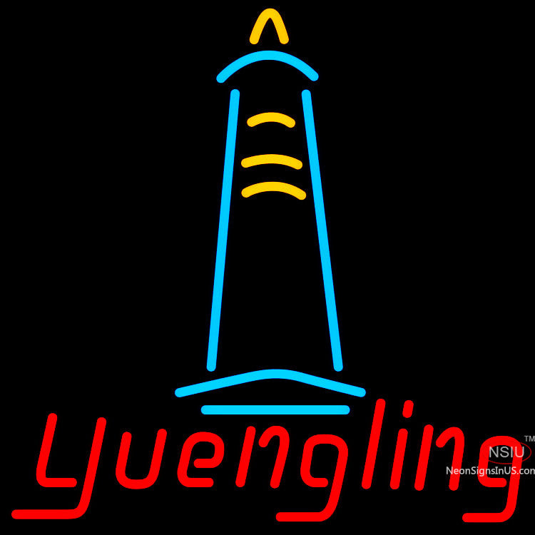 Yuengling Lighthouse Neon Beer Sign x