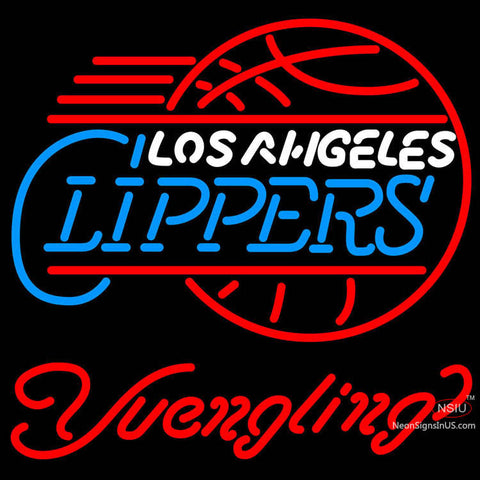 Yuengling Los Angeles Clippers NBA Beer Neon Sign