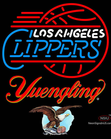 Yuengling Los Angeles Clippers NBA Neon Sign