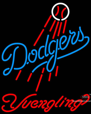 Yuengling Los Angeles Dodgers MLB Beer Neon Sign