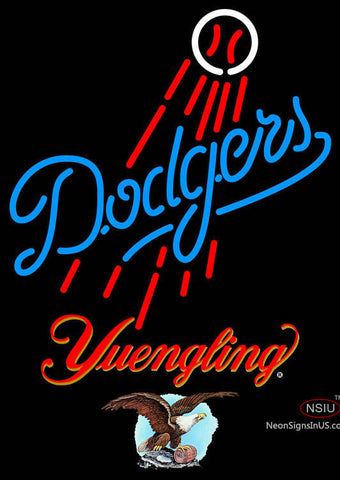 Yuengling Los Angeles Dodgers MLB Neon Sign