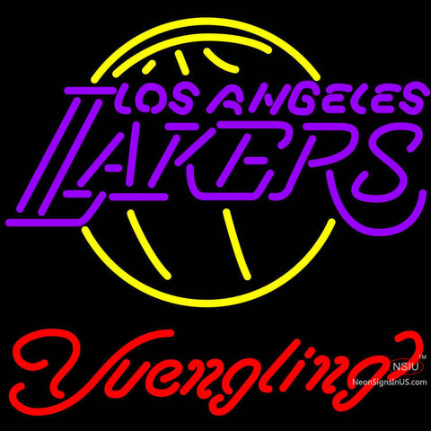 Yuengling Los Angeles Lakers NBA Beer Neon Sign