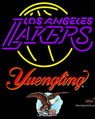 Yuengling Los Angeles Lakers NBA Neon Sign