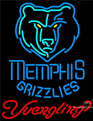 Yuengling Memphis Grizzlies NBA Beer Neon Sign