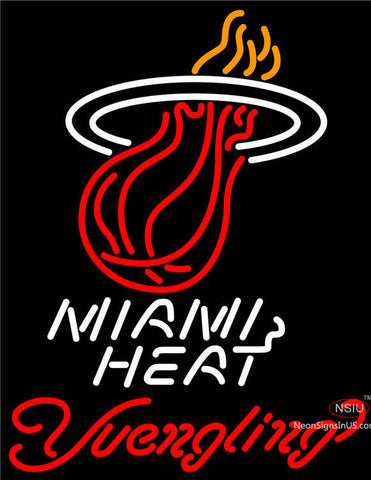Yuengling Miami Heat NBA Beer Neon Sign