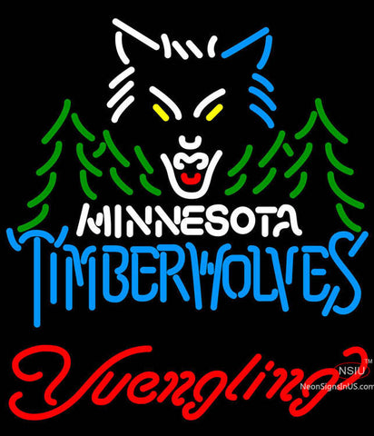 Yuengling Minnesota Timber Wolves NBA Beer Neon Sign