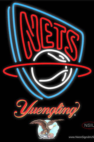 Yuengling New Jersey Nets NBA Neon Sign