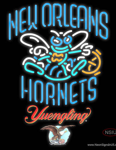 Yuengling New Orleans Hornets NBA Neon Sign
