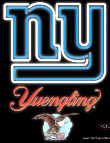 Yuengling New York Giants NFL Neon Sign