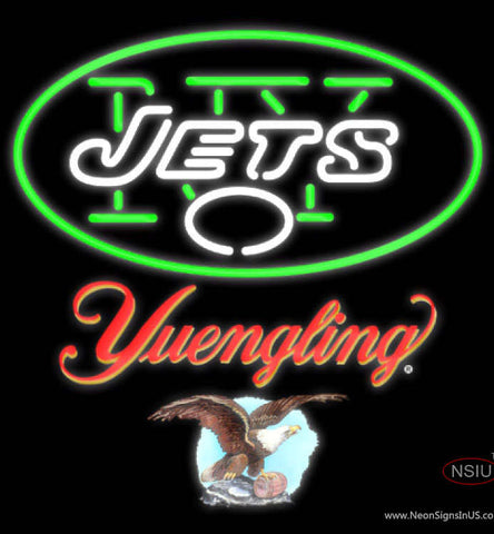 Yuengling New York Jets NFL Neon Sign
