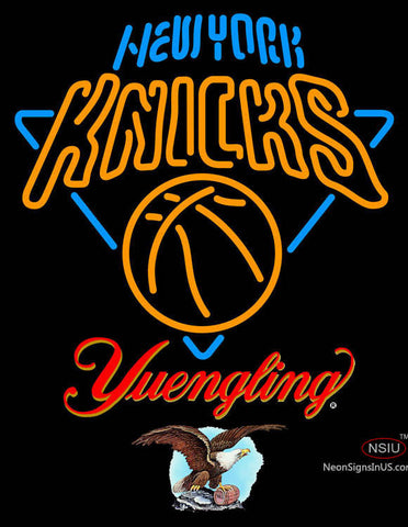 Yuengling New York Knicks NBA Neon Sign