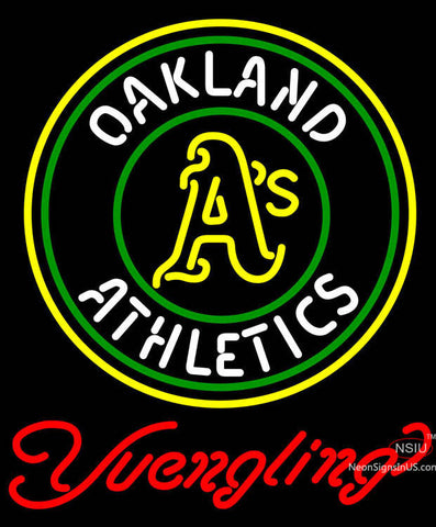 Yuengling Oakland Athletics MLB Beer Neon Sign