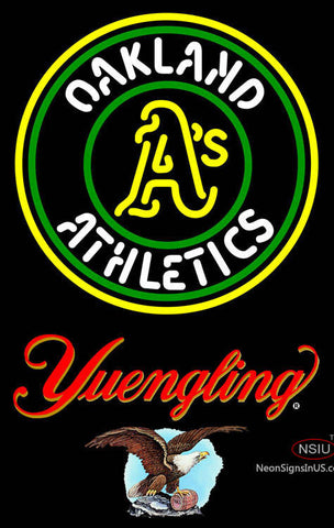Yuengling Oakland As MLB Neon Sign