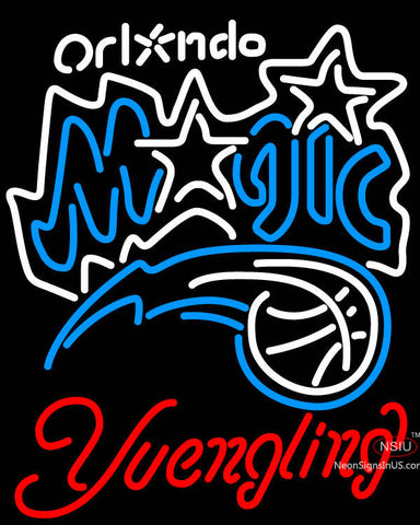 Yuengling Orlando Magic NBA Neon Sign