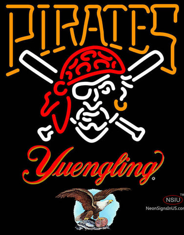 Yuengling Pittsburgh Pirates MLB Neon Sign