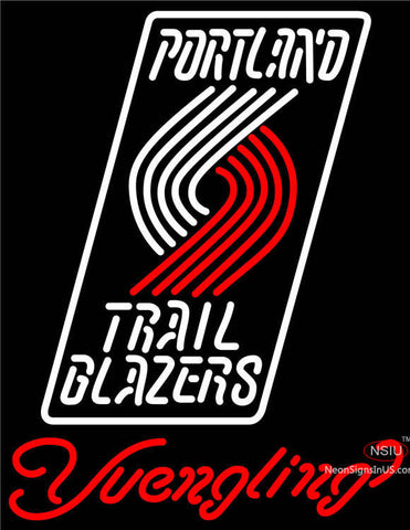 Yuengling Portland Trail Blazers NBA Beer Neon Sign