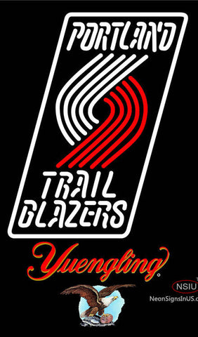Yuengling Portland Trail Blazers NBA Neon Sign