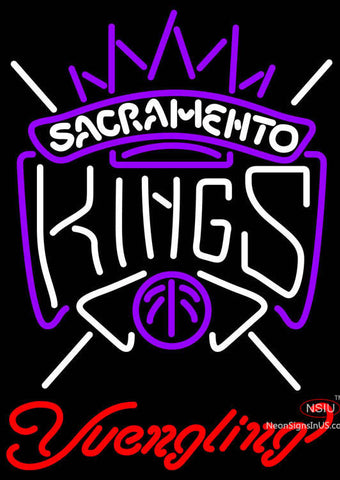 Yuengling Sacramento Kings NBA Beer Neon Sign