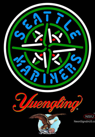 Yuengling Seattle Mariners MLB Neon Sign