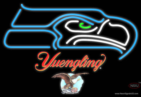 Yuengling Seattle Seahawks NFL Neon Sign