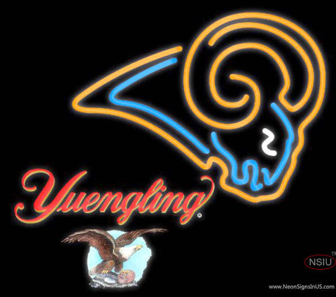 Yuengling St Louis Rams NFL Neon Sign