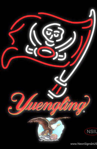 Yuengling Tampa Bay Buccaneers NFL Neon Sign