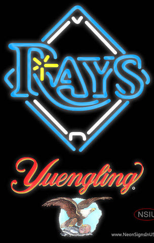 Yuengling Tampa Bay Rays MLB Neon Sign