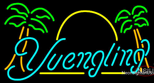 Yuengling Sun Palm Trees Neon Beer Sign – Bro Neon Sign