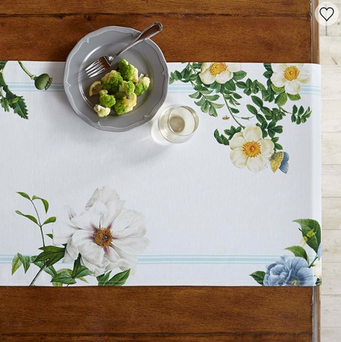 Williams Sonoma spring table runner
