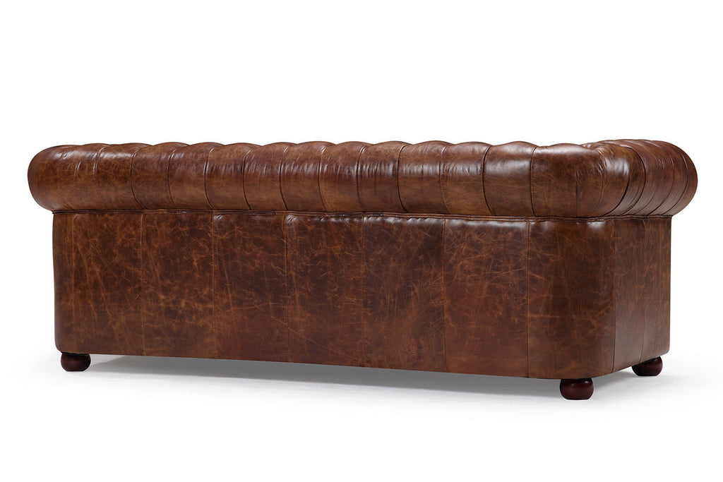 ... Original Chesterfield Leather Sofa   Rose And Moore HK ...